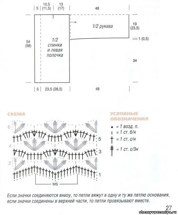 Схема квадратную кокетки крючком детского платья фото 518