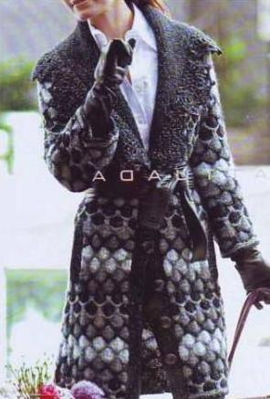 пальто вязание спицами вязание схемы бесплатные схемы вязания